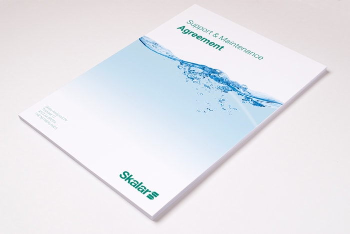 Skalar Brochure Design