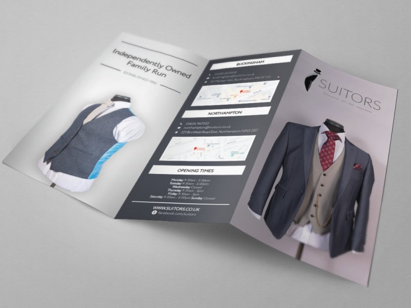 Suitors Leaflet Design