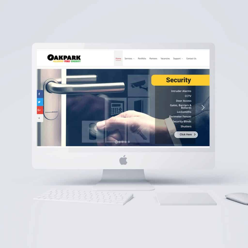 Oakpark Group Security Website Design Company