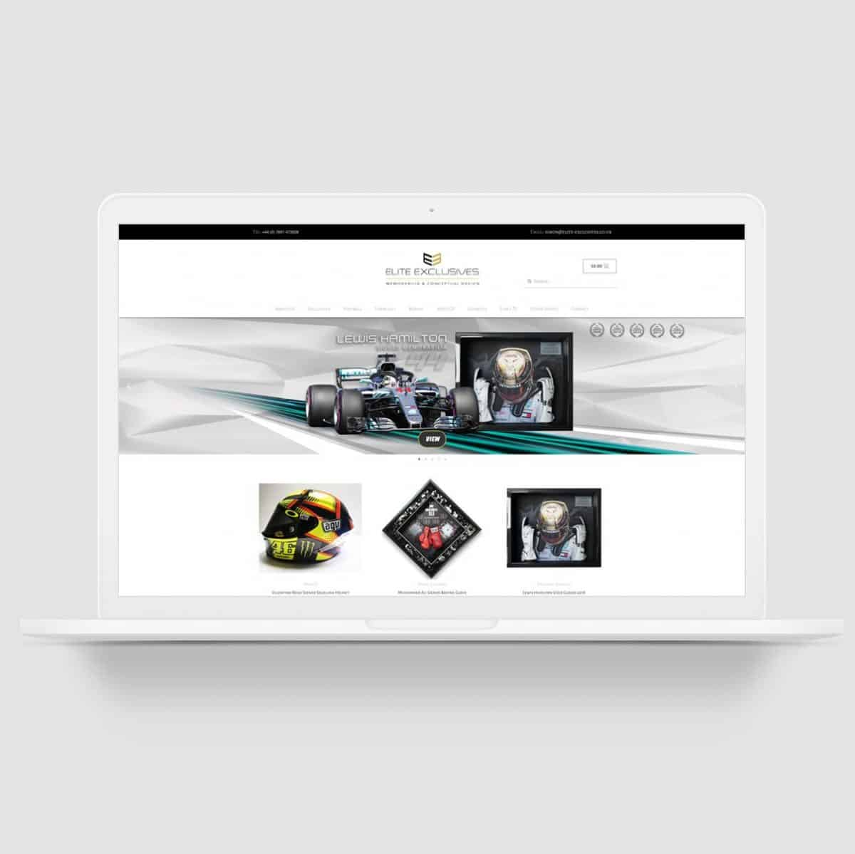 bespoke ecommerce website design
