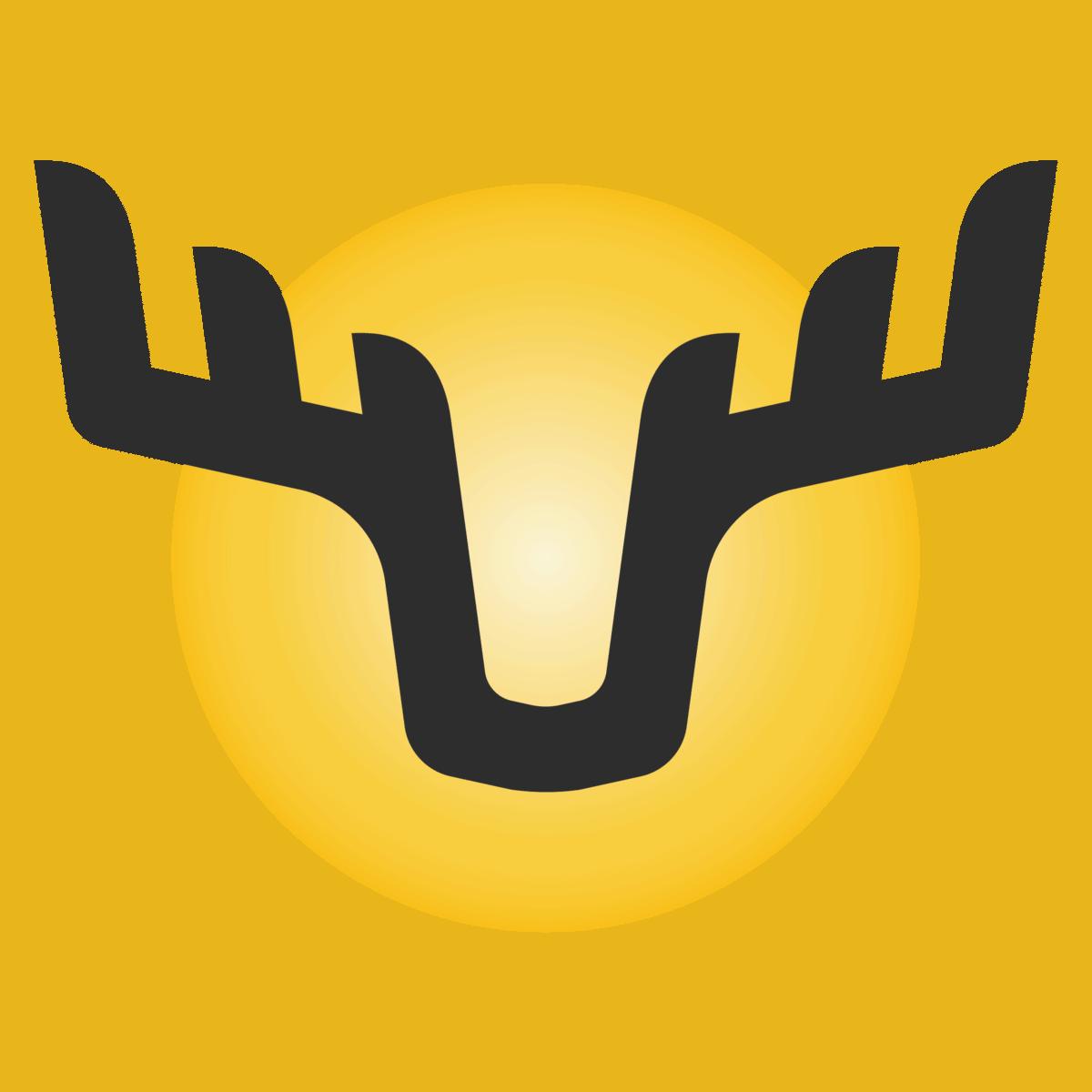 Yellow Moose Icon