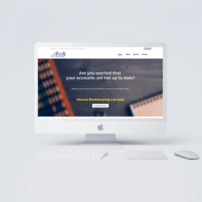 accounting website design