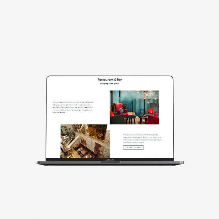 architect company web design