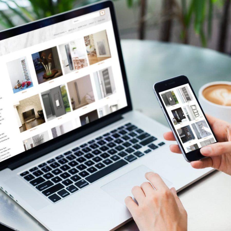 online catalogue store design