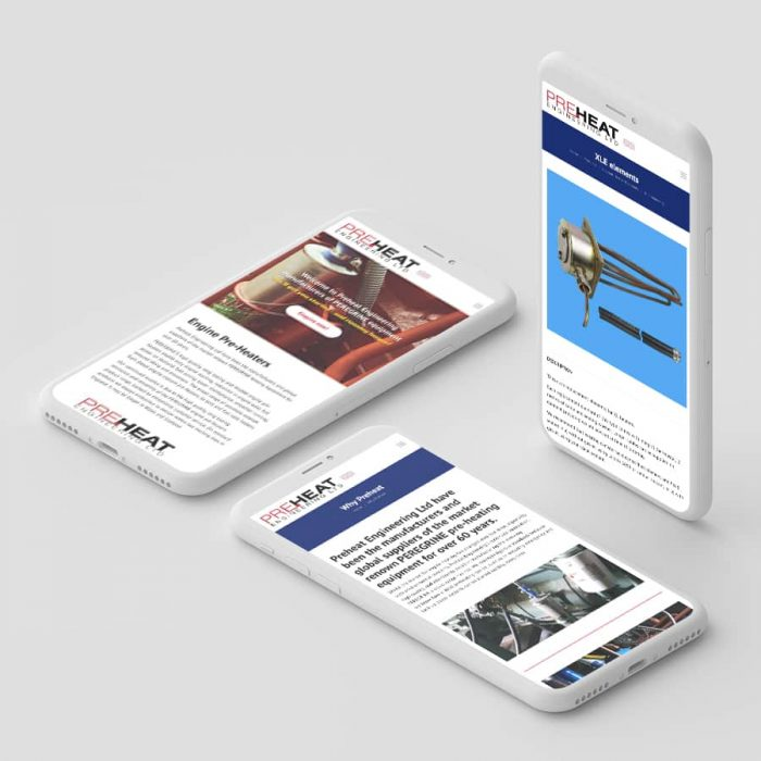 preheat engineering responsive web design