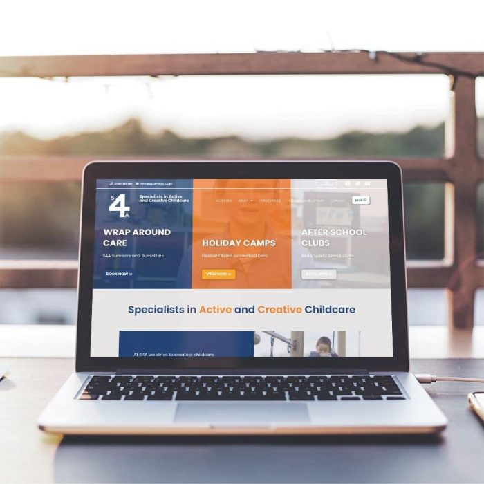 s4a website redesign