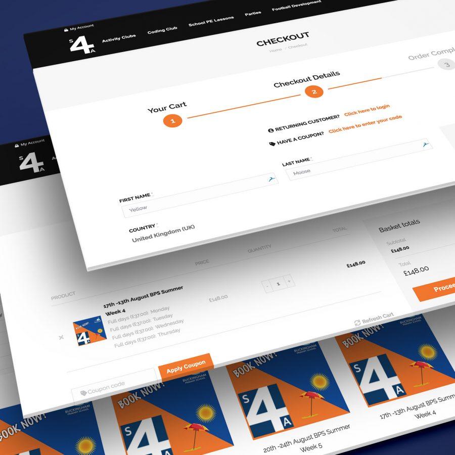 S4A Ecommerce Web Designer